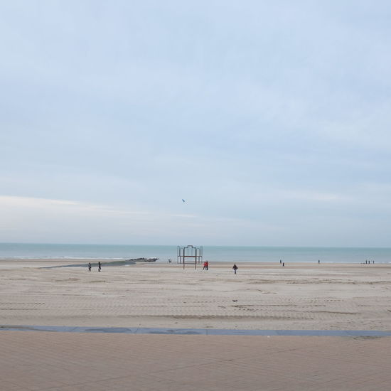 Oostende Belgium 2015 Beach Coastline Composition Distant Getting Away From It All Horizon Over Water Negative Space Ocean Outdoors Sand Scenics Sea Seascape Shore Summer Tranquil Scene Tranquility Vacations Water Wave Weekend Activities