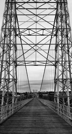 Royal Gorge Bridge, Colorado Royal Gorge Colorado Perspective Black And White B&w Standing On A Bridge Structure Bridge Architecture EyeEm Best Shots First Eyeem Photo