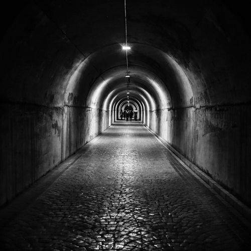Tunnel Darkness And Light Blackandwhite Seeyouontheotherside Square Fresh On Eyeem