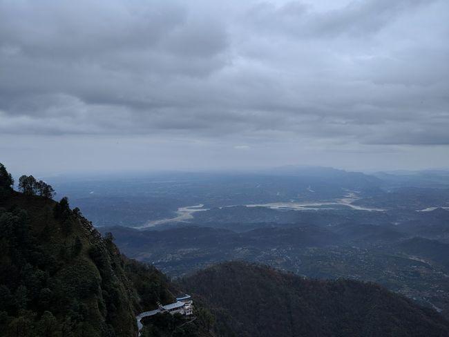 Katra, Vaisno Devi, Jammu and Kashmir. Bhairo Mandir Cloud Nature Vaisno Devi Zénith  Jammu And Kashmir Katra Mountain
