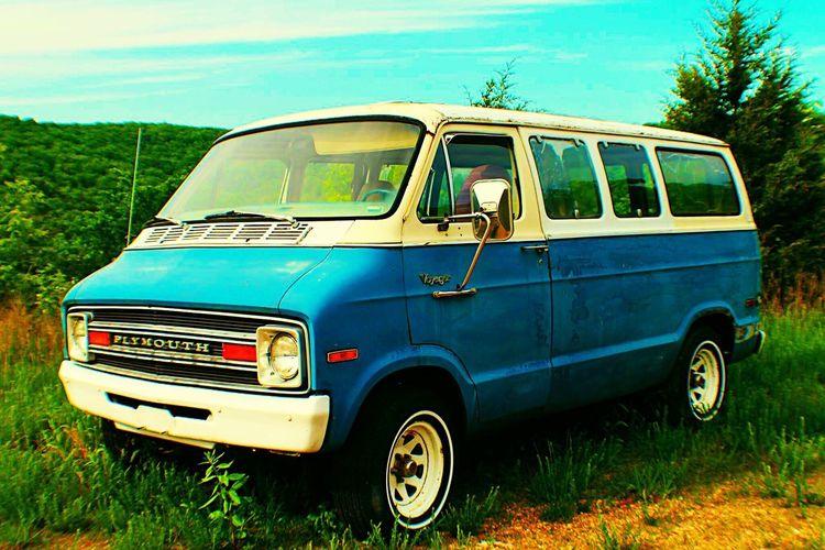 Old vans, vans