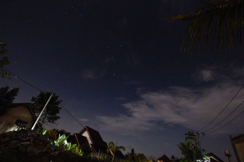 Travel Photography Nightphotography Stary Stary Night... at Bali, Indonesia