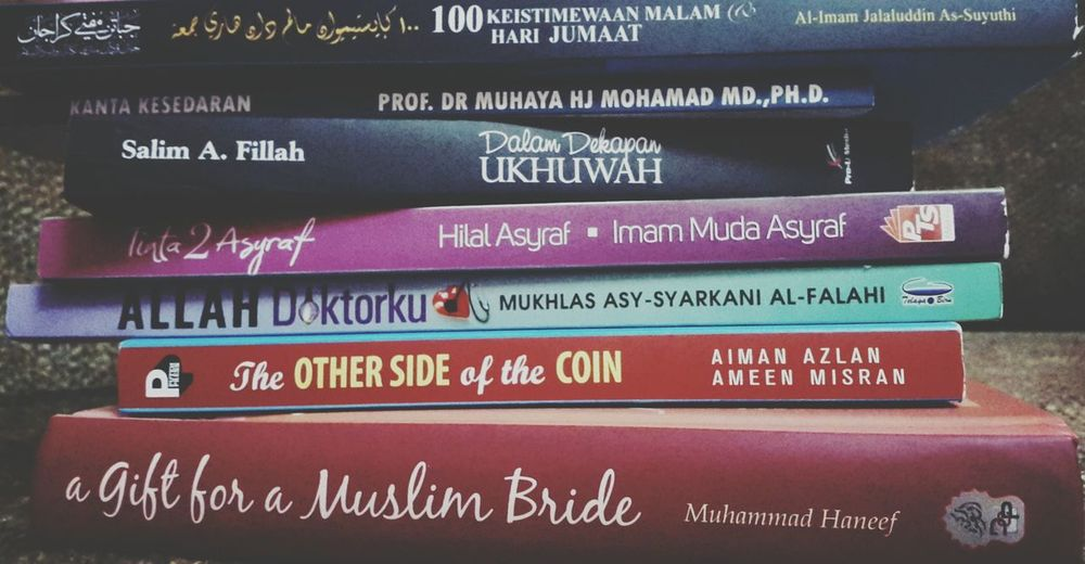 Waiting to be read. ❤Books Life Brunei Darussalam Igniting Minds