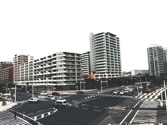 Chiba,Japan Makuhari City. 被写体としてシンプルな建物が気になる😌温か味が無いけど、逆にシンプルな建物として面白い😌😌😌👍