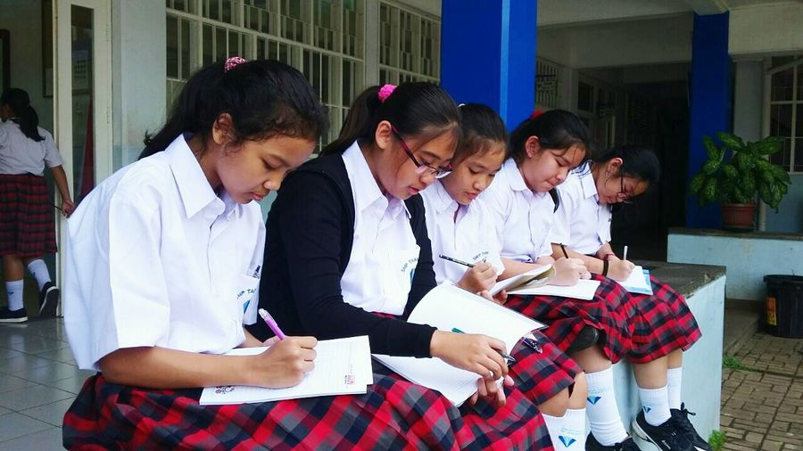 When the girls are diligent