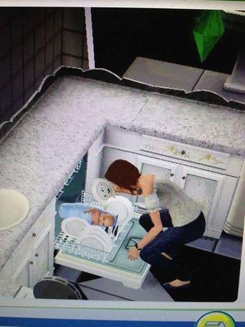 I hope thats just a glitch 😂 First Eyeem Photo LOL! Sims