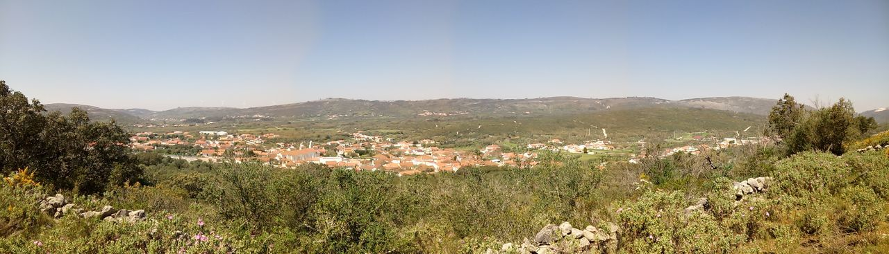 View over the village of Mendiga, Portugal. Mountain Landscape Nature Rural Scene Tranquil Scene Clear Sky Beauty In Nature Outdoors Amazing Portugal Serra De Aire E Candeeiros Retirodaavolidia Mendiga Parque  Beauty In Nature Parque  Relaxing Wonderful Topdestinations Topdestinos