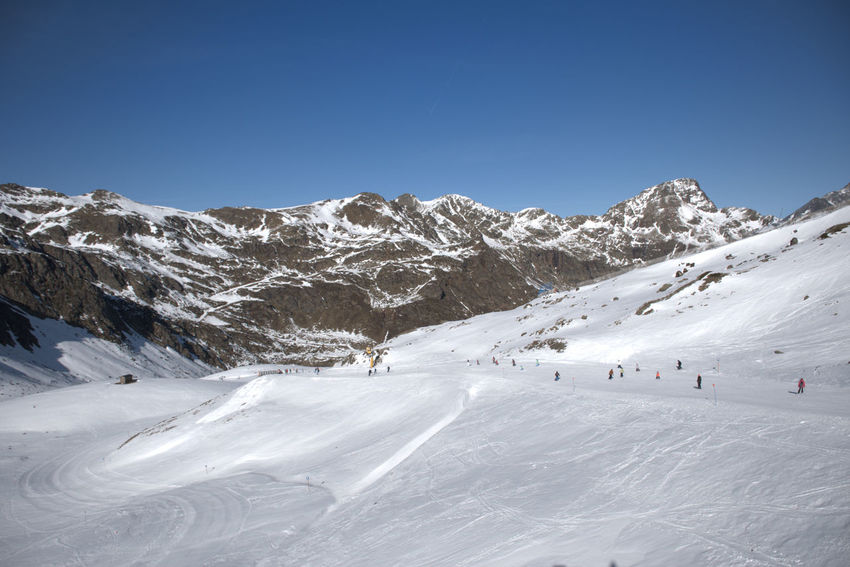 Skiing in ordino-arcalis (Andorra) Skiing Ski Station Ski Resort  Andorra Mountain Range Tranquility Winter Sport White Color Snowcapped Mountain Sport Sky Beauty In Nature Scenics - Nature Mountain Cold Temperature Snow Winter Environment Day Non-urban Scene Leisure Activity Hollidays Vacations Tranquil Scene