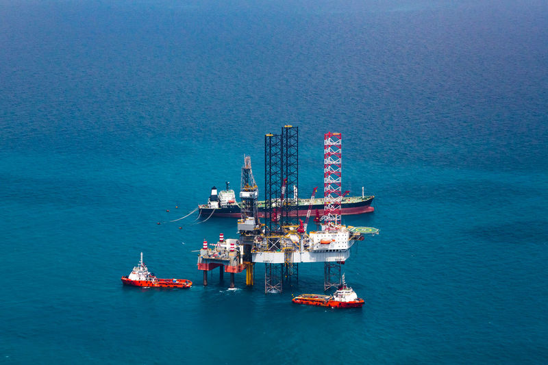 Beauty In Nature Blue Day Drilling Rig Fossil Fuel Fuel And Power Generation Industry Nature Nautical Vessel No People Offshore Platform Oil Oil Industry Outdoors Rig Scenics - Nature Sea Transportation Water Waterfront