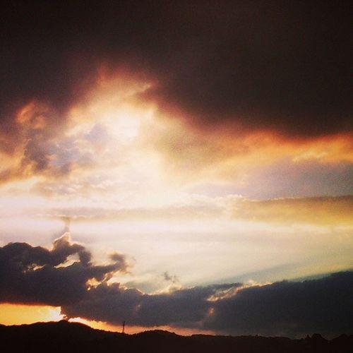 Atardecer en guate Guatemala Sunset AserejeJaDeje