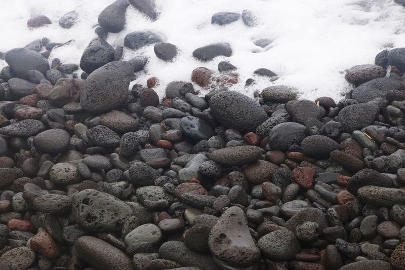 Crashing Waves  Rocks On The Shore Rocks And Minerals Rocks And Water Relaxing Moments Beachphotography Travel Food And Drink Pebble Beach Land Nature Outdoors Winter Wellbeing