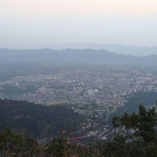 View of Katra from Vaishno_mata Photography Winters more pics coming soon