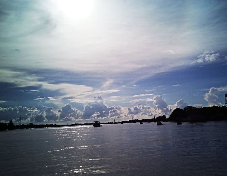 Perspectives On Nature Sky Cloud - Sky Beauty In Nature No People Outdoors Water Nature Scenics Day