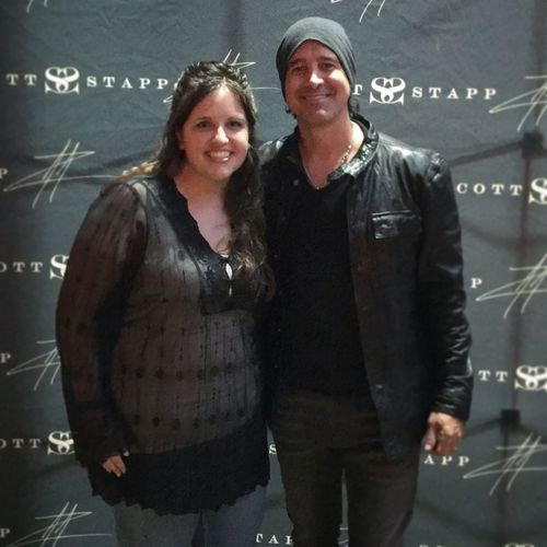 Got to meet Scott Stapp this weekend!! Fan girl overload! He is such a nice guy!! EyeEm EyeEm Best Shots Eye4photography  EyeEmBestPics Eyeemphotography EyeEm Best Edits Me :)  That's Me ScottStapp Creed  Singer  Happy Concert Hanging Out Enjoying Life Taking Photos Photography Relaxing Hello World Check This Out Traveling Walking Around Colors Color Portrait Color Photography