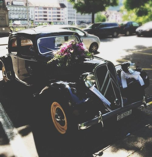 Traveling Notes From The Underground Classic Car Streetphotography get me to the wedding on time !! ^^*