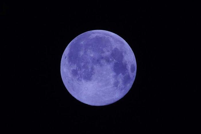 Blue moon Bluemoon Fullmoon Moon