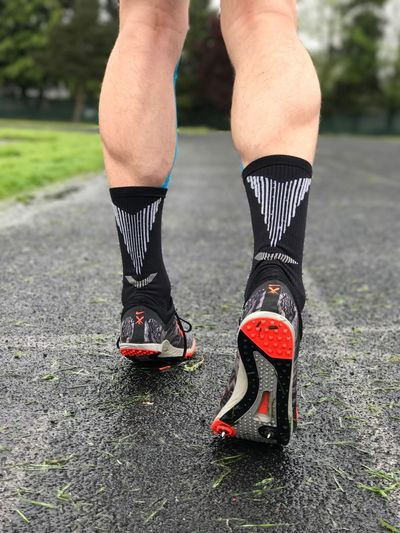 Low Section Human Leg Outdoors Real People One Person Lifestyles Shoe Leisure Activity Sport Human Body Part Day Sports Clothing Healthy Lifestyle Men Sportsman Close-up One Man Only Soccer Shoe Adults Only Adult