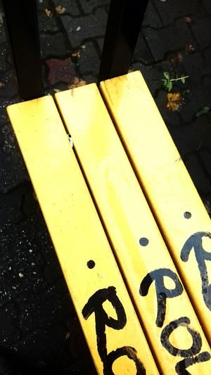Yellow Ihavenoideawhatimdoing Taking Photos First Eyeem Photo Zabrze Rainy Days Road Street Transportation