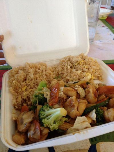 Lunch earlier!