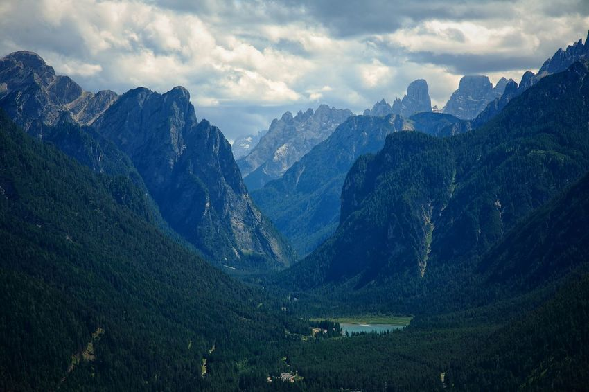 Beauty In Nature Idyllic Landscape Mountain Tranquil Scene Val Pusteria Dolomites