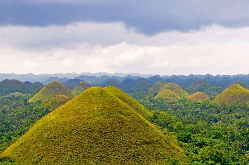 Hills Bohol Landscape Nature Nature