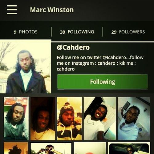 s/o to my #dtmc bro @cahdero everybody go follow him