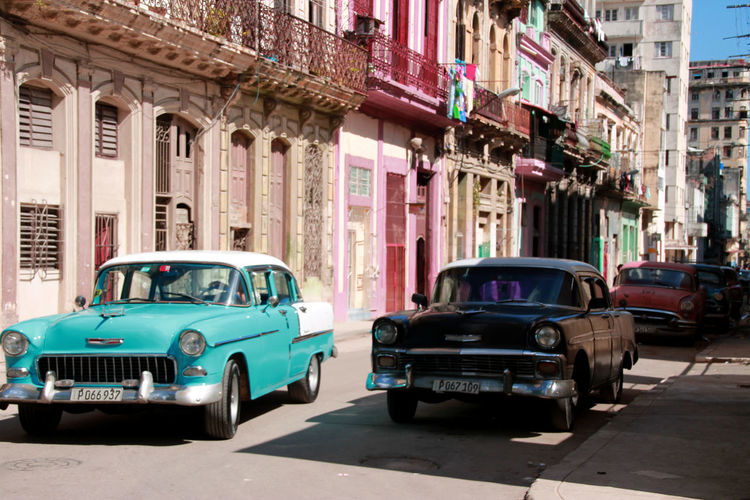 Been There. Havana, Cuba Havanna, Cuba Architecture Building Exterior Built Structure Car City Cuban Cars Cuban Cars, Day Havana Street Land Vehicle Mode Of Transport No People Old-fashioned Outdoors Retro Styled Transportation