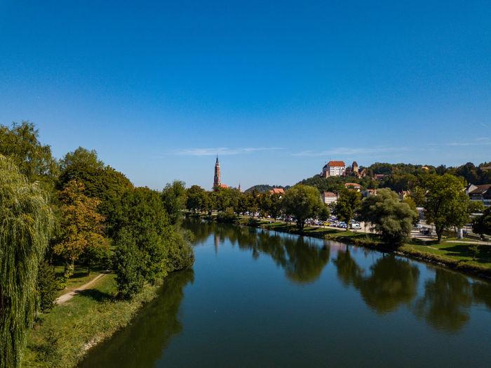 Landshut from above