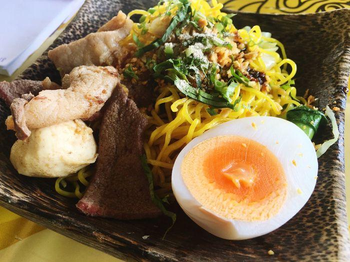 Thai food Noodle First Eyeem Photo Food Egg Boilegg Egg Noodle Pork