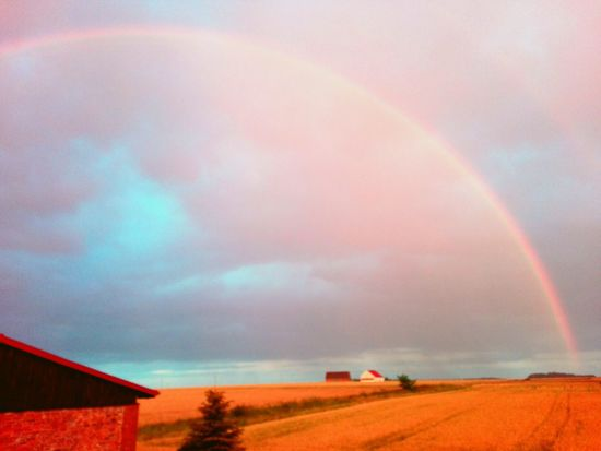 Rainbow in smool Country