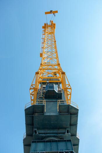 Crane, Port of Sunderland Industry Technology City Occupation Crane - Construction Machinery Development Sky
