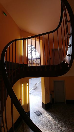 Familistere Jean-Baptiste André Godin Palais Social Utopia Architecture Built Structure Day Home Interior Indoors  No People Railing Window