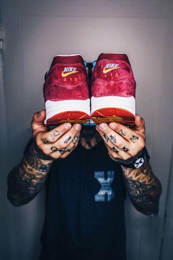 Nike ✔ Nike Shoes Air Jordan Tattoos Notes From The Underground EyeEm Best Shots Street Fashion My Nigga Street_collection Nike Air