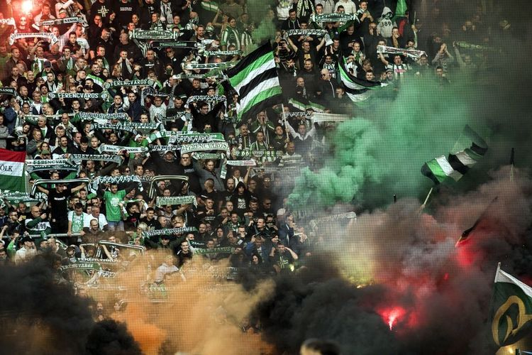 Football Game Football Fever Football Large Group Of People Crowd Smoke - Physical Structure High Angle View Real People Religion Men