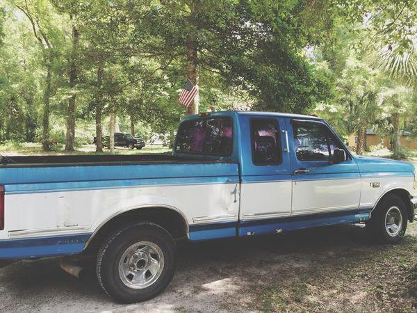 The Week On EyeEm American Made American Flag Ford Truck Classic