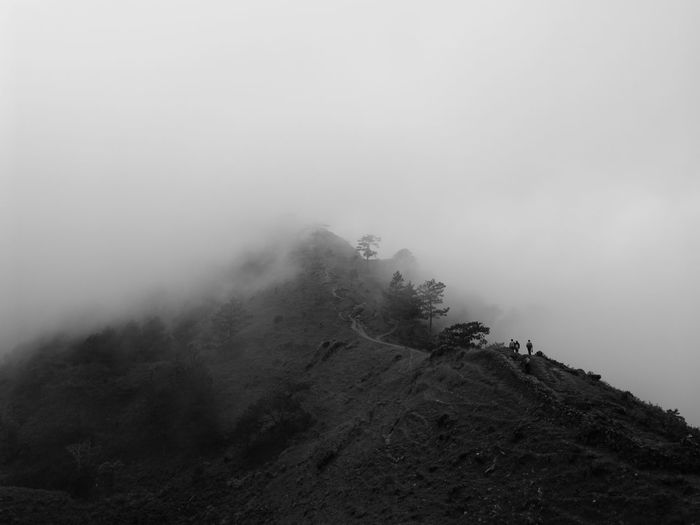 To the Top... Smartphone Photography Huawei Photography No Edit Shotwithhuaweimate9 Huawei Mate 9 Huaweimobile Huaweimate9 Eyeem Philippines Mobile PhotographyTaking Photos Huaweiphotography Mountains Landscape Black & White Trekking Mt.Ulap Nature Mountain And Clouds Fog Foggy Kokopaps The Great Outdoors - 2017 EyeEm Awards Lost In The Landscape