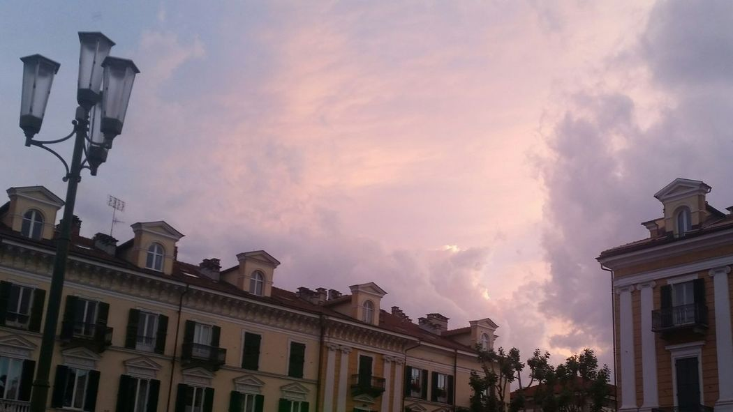 2015  Cuneo Italy Sky Historical Building Cityscapes Sunset Clouds My Town OpenEdit