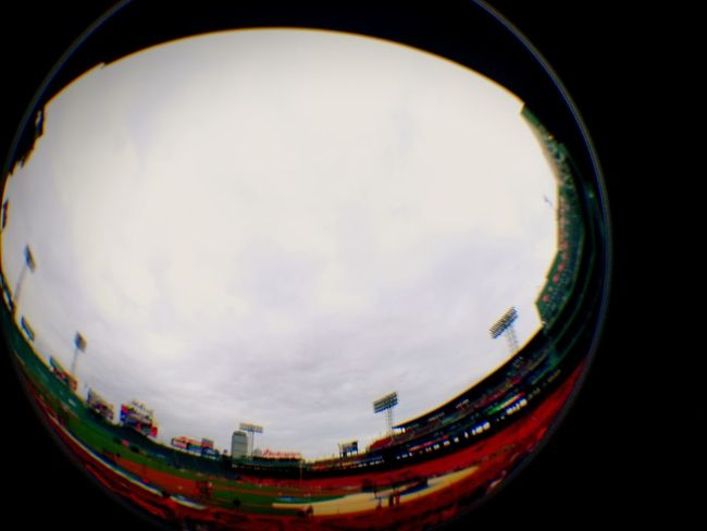 Fish-eye Lens Boston, Massachusetts Check This Out Eye4photography  Stadium Fenway Park Go Sox