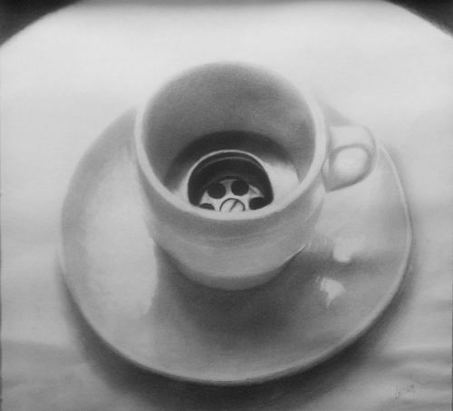 Bnw_friday_eyeemchallenge Cafe Close-up Bnw_coffee