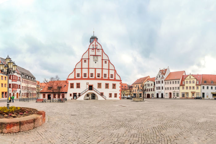 Grimma City Hall East Grimma Travel Europe Germany Saxony Tourism Town Hall Travel Destinations Village