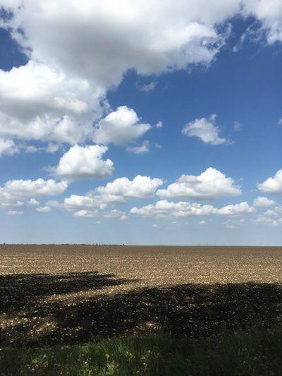 Plowed Field Rural Scene Agriculture Field Sky Landscape Cloud - Sky
