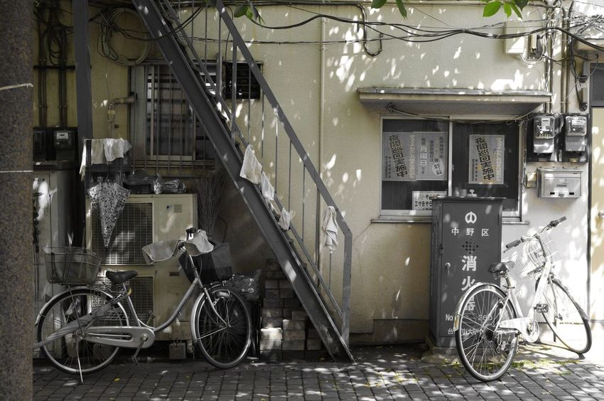 Bycicle Hanging Out Tokyo,Japan Backalley Streetphotography The Street Photographer - 2016 EyeEm Awards