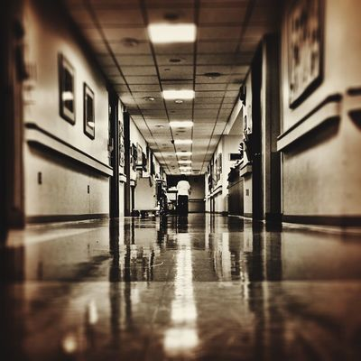 Oncology Ward Cancer IPhoneography Beatcancer Hospital 366dailies Hallway Medicine Hope Grateful
