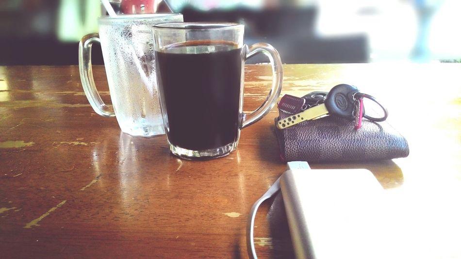 Minum petang. Coffee break. Kopiccino Coffee ☕ Malaysian Food
