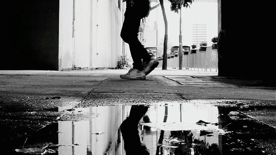 walk. Afternoon