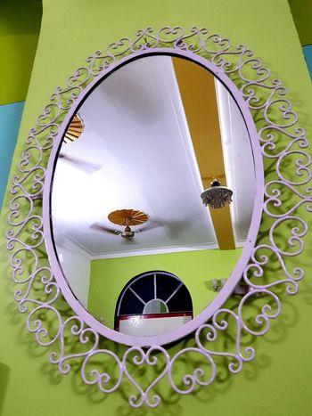 Mirror Green Color