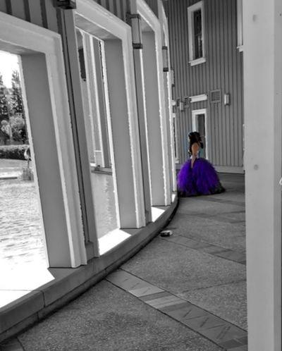 """Purple Princess"" OpenEdit Portrait Purple Purple Dress:) The Street Photographer - 2015 EyeEm Awards Quinceañera"