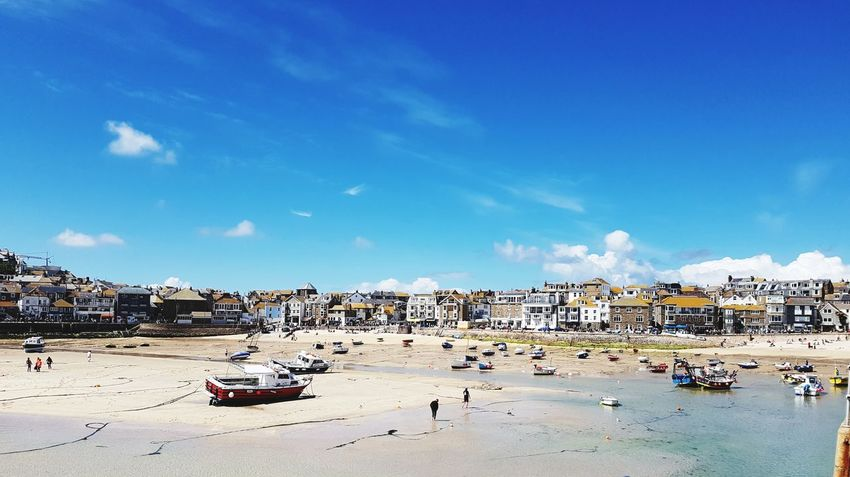 St Ives today 😁Beach Sea Sand Water Outdoors Sky Summer Vacations Cloud - Sky Day Blue Tranquility Horizon Over Water Nautical Vessel Nature No People Travel Destinations Cornwall Stivesharbour