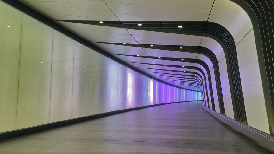 Architecture Ceiling Corridor Flooring Glass - Material Granide Marble Flooring Indoors  Kings Cross Kings Cross Station Light Lighting Metal Modern Pattern Perspective Public Corridor Wall Wall Lighting