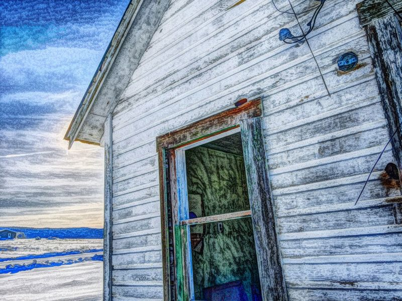 Abandoned Cold Door Forbidden Places House Snow Window Winter